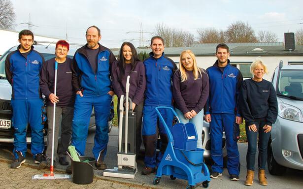 Die Gebäudereinigung Reils & Wahl aus Mettmann setzt auf qualifizierte Reinigungskräfte und fachkundige Mitarbeiter.